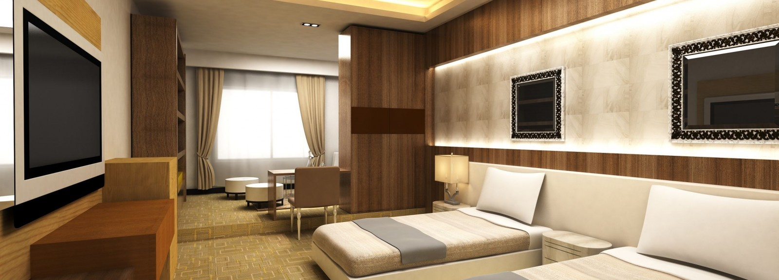 We also renovate Hotel Interiors…